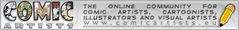 The Online Community for Comic Artists,  Cartoonists, Illustrators, Visual Artists.